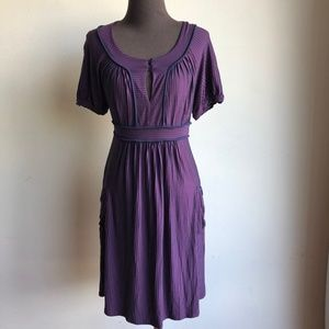 Ella Moss sz S strips cute dress
